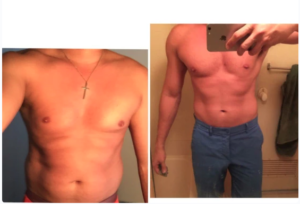Discipline made me go from disgusting slob to sexy bod in 6 months.